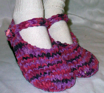 Basic Mary Jane Baby Booties Free Knitting Patterns with